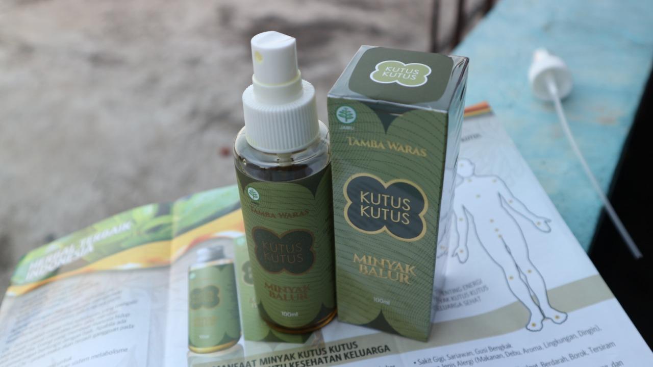 Minyak Kutus Kutus Obat Herbal Berkhasiat dan Mujarab